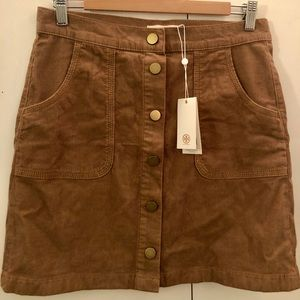 Brand New (with tags) Tory Burch Corduroy Skirt